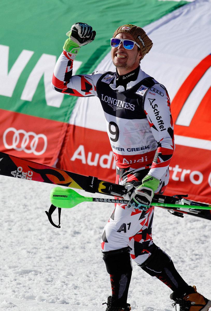 Die Goldmedaille in der Super-Kombination geht an Marcel Hirscher aus Österreich - ©Audi Media Service
