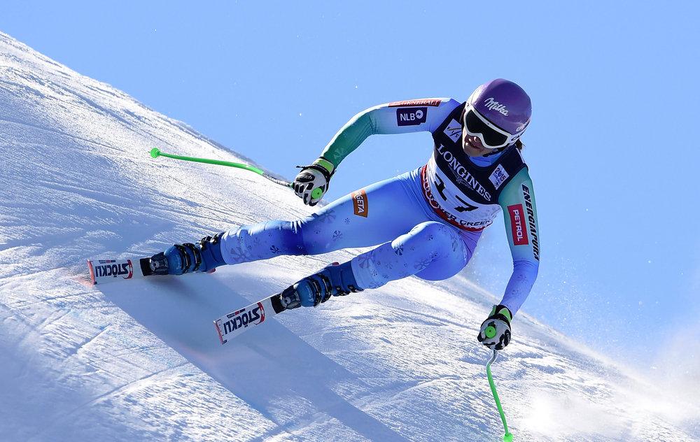 Gold für eine gute Leistung in der Super-Kombination an Tina Maze (SLO) - ©Audi Media Service