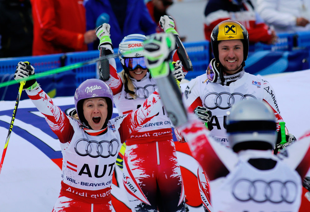 Goldmedaille im Nations Team Event für Österreich - ©Audi Media Service
