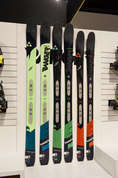 The all new Ranger series from Fischer features a plethora of technologies that keep the skis light yet super stable in all conditions. The Rangers sport modern shapes and rocker profiles, which lets them excel in all conditions for a variety of skier types. - © Ashleigh Miller Photography