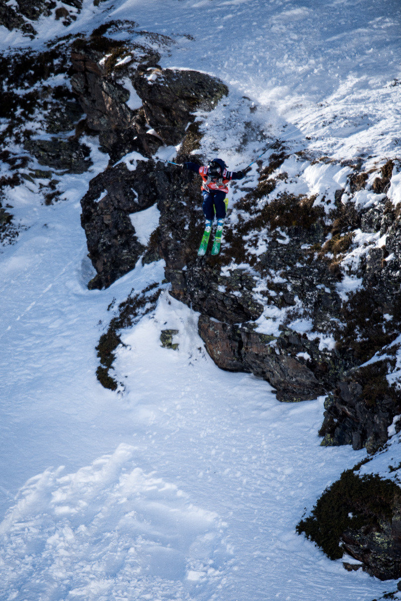 Wille Lindberg (SWE) - © Freeride World Tour | David Carlier