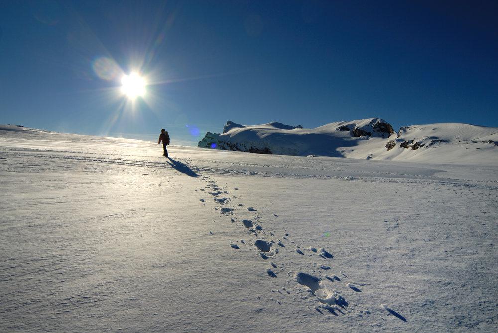 Grands espaces à proximité du domaine skiable des Diablerets - © Christophe Racat