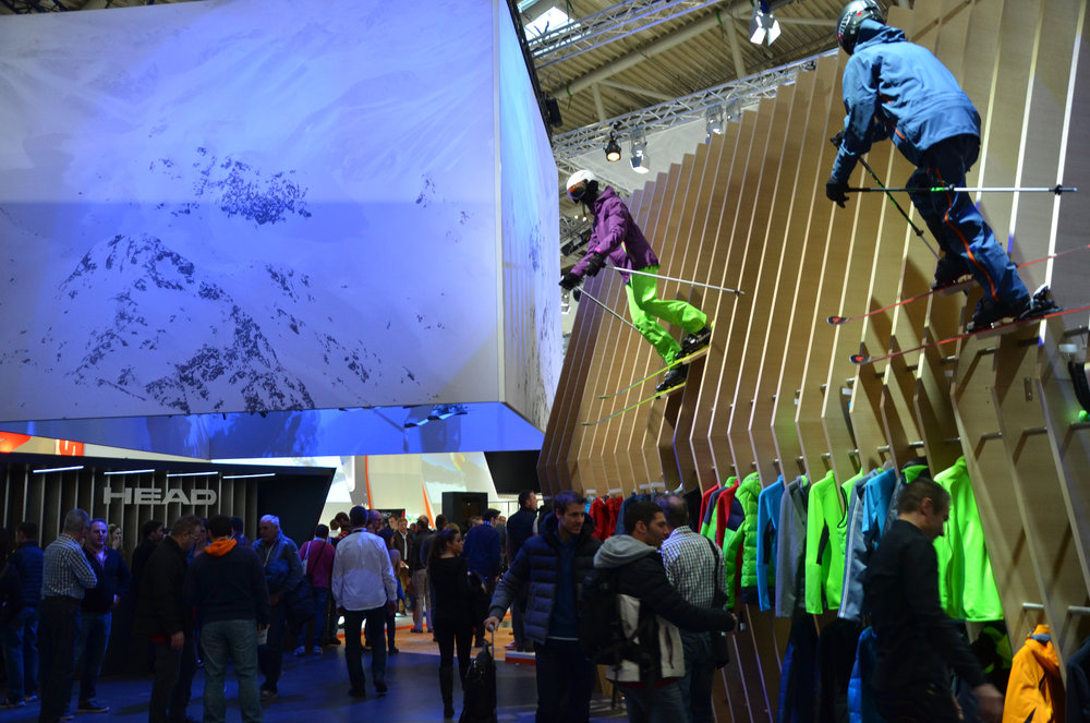 HEAD na ISPO 2015 - © Skiinfo