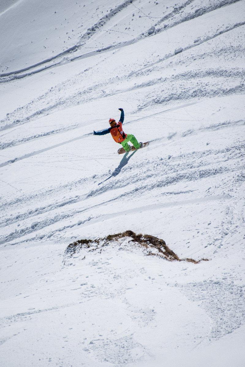 Sieger bei den Snowboard-Herren: Jonathan Charlet (FRA) - © Freeride World Tour | David Carlier