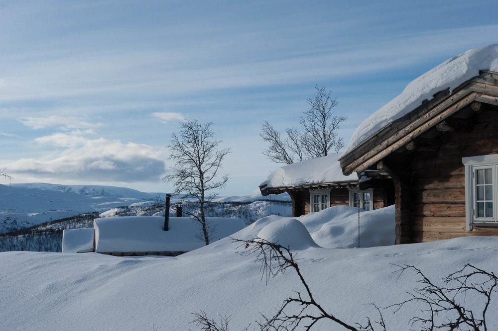 Ekstremt idyllisk beliggenhet for hytter og leiligheter. - © Eirik Aspaas