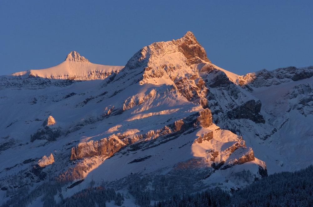 Die einfallende Sonne verschönert die Landschaft - © Christophe Racat