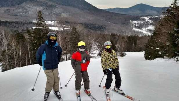 epic day @ Black. 2/21/15  packed powder everywhere glades were awesome