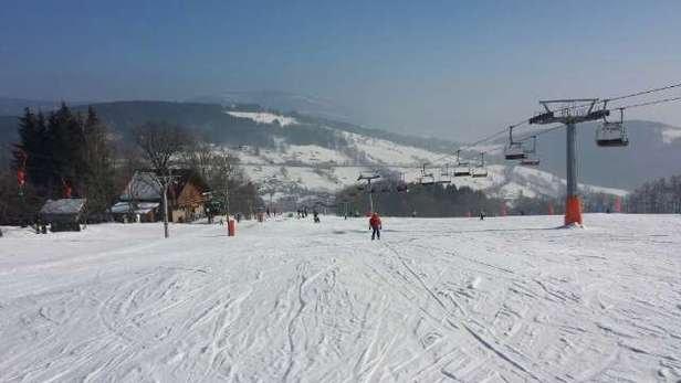 Pátek 20. 2 super lyžování.
