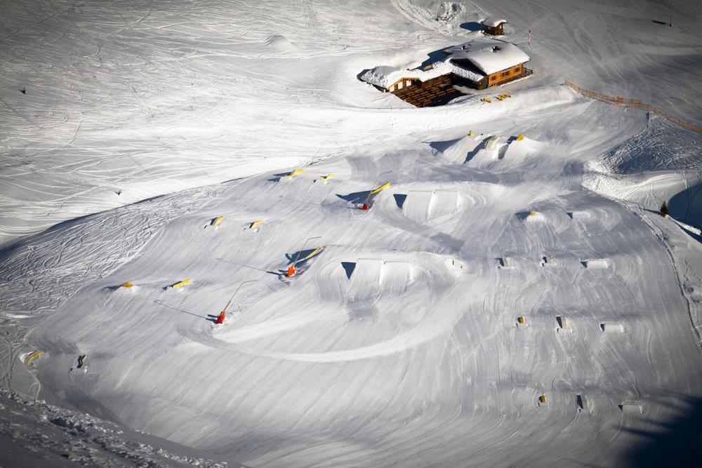 Im Funpark kann man sein Können ausbauen - © Bergbahnen Gastein AG