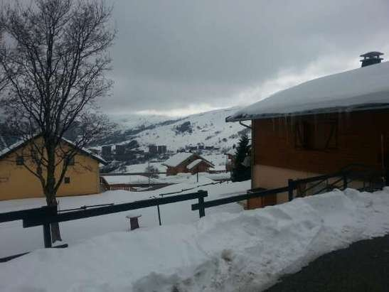 superbe station la toussuire neige bien fraiche et bonne pistes