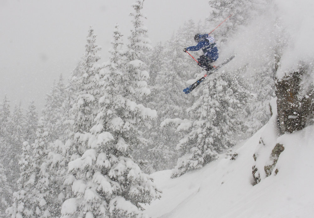 Taos Ski Valley storm at the end of Feb. 2015. - © Taos Ski Valley
