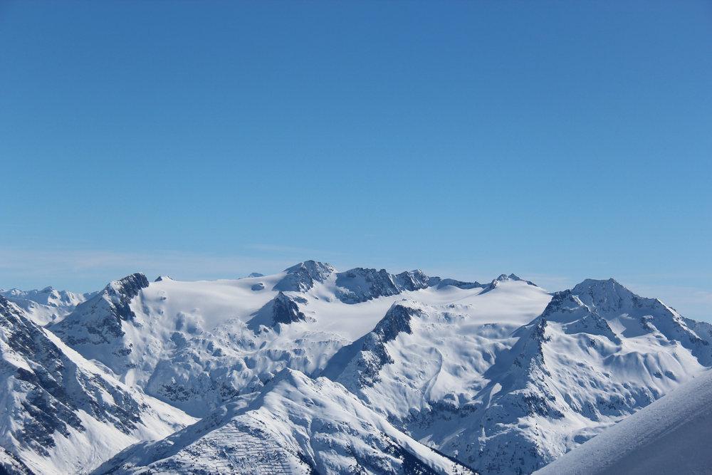 Man verliert sich schnell in der Schönheit der Berge - © Skiinfo.de