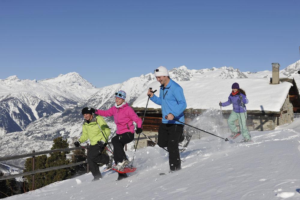 Viele Sportarten lassen sich im Schnee ausleben - © Philipp Gattlen - Moosalpregion