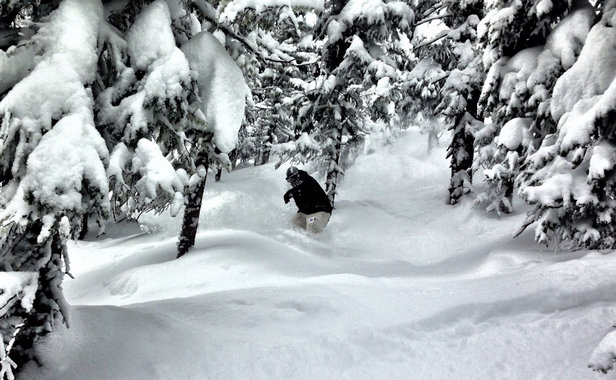 Monarch Mountain - Oh so so good!!! - © Ryan's iPhone