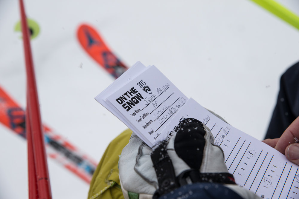 The origins of our valuable Ski Test data. - © Liam Doran
