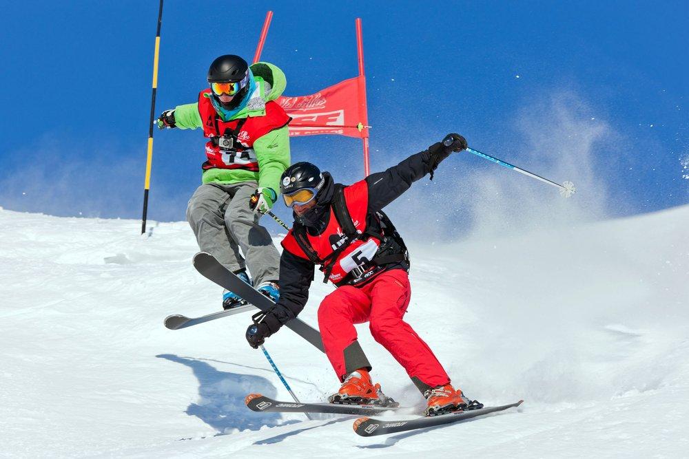 Val d'Allos Ski Enduro #5 / 14 & 15 mars 2015 / Ça va barder entre les mélèzes ! - © Office de Tourisme du Val d'Allos
