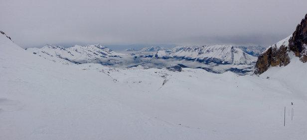 Superdevoluy / La Joue du Loup - Belle neige !! Pas de grand ciel bleu mais pas de soupe non plus  - © françois