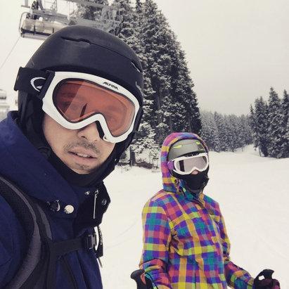 Obereggen - Pampeago - Predazzo - Sabato 20 marzo neve perfetta. Domenica 21 piste rovinate dalla neve caduta nella notte. Alle ore 16 neve sciolta. - © iPhone