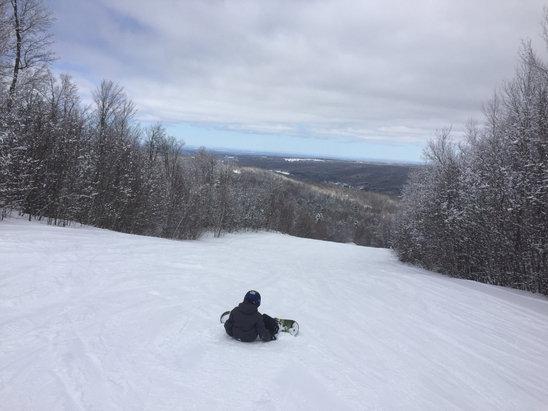 Titus Mountain - Firsthand Ski Report - ©SFM