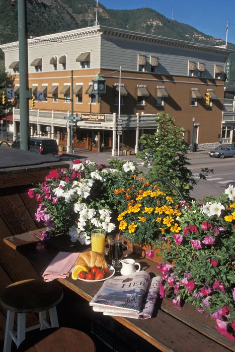 Scenic downtown Durango, CO.