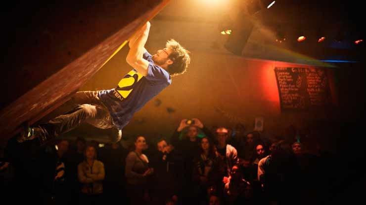 Daniel Jung im Finale - © HardMoves Boulderleague