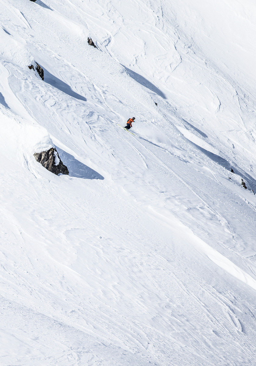 Andermatt bietet unzählige Möglichkeiten, sich abseits der Pisten zu bewegen - © Christoph Jorda | www.christophjorda.com