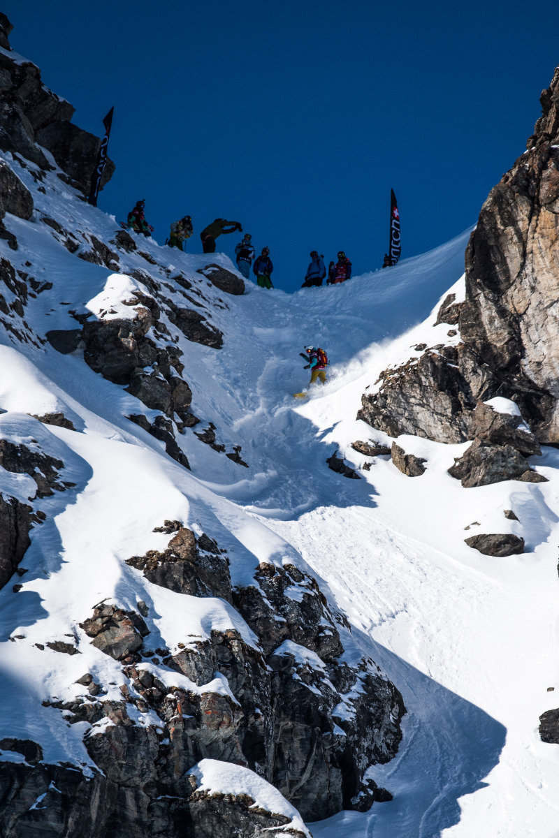 Finale der Freeride World Tour 2015 in Verbier - © David Carlier | Freeride World Tour