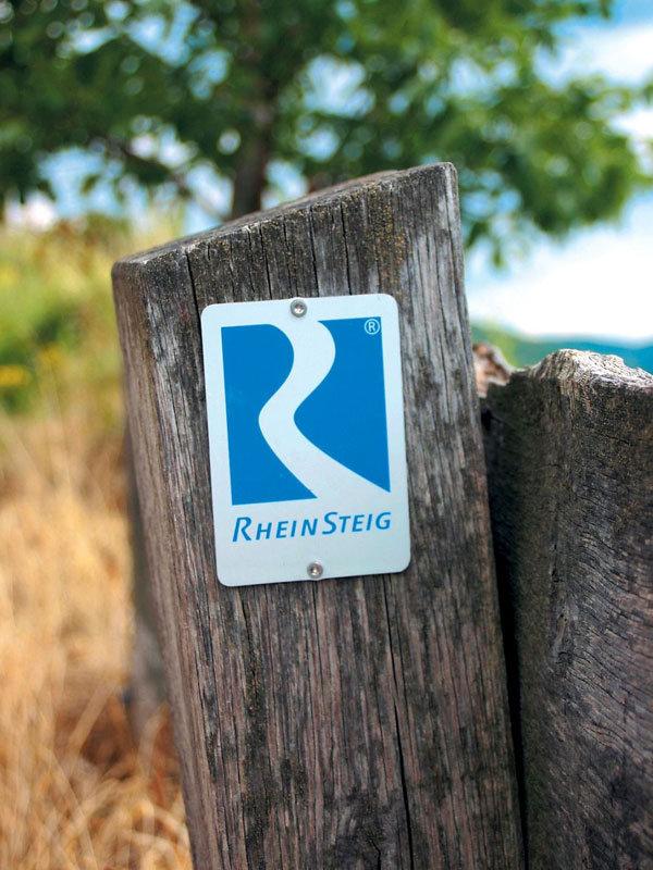 Rheinsteig-Markierung - © Rheinsteig-Büro