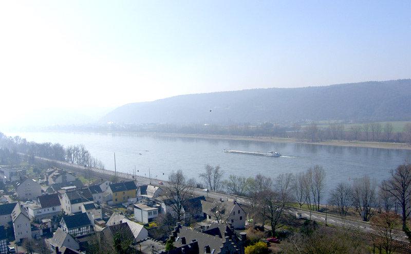 Blick auf den Rhein - © bergleben.de