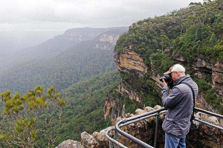Landschaft in den Blue Mountains, New South Wales, Australien - © Oliver Gerhard