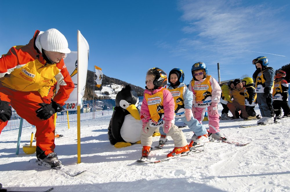 Children listening to their instructor at Bad Kleinkirchheim