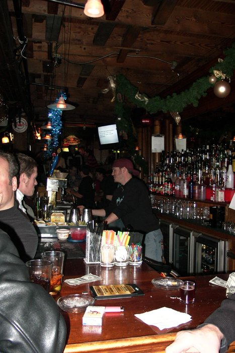 Serata in un bar di Park City