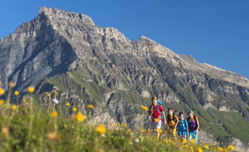 Glasergrat mit Piz Beverin - © Graubünden Ferien & Geo-Tracks