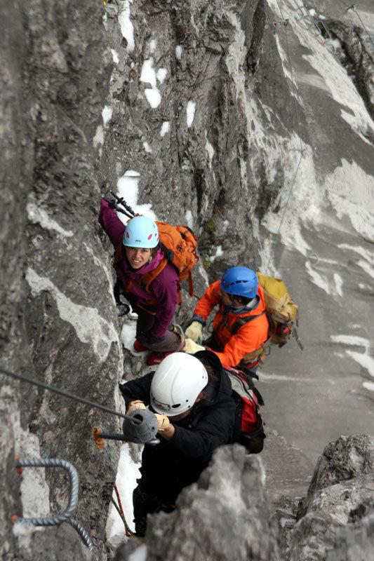 Klettern in Graubünden: Ein Tag mit Traumjobberin Andrea und Profikletterin Nina Caprez - © bergleben.de