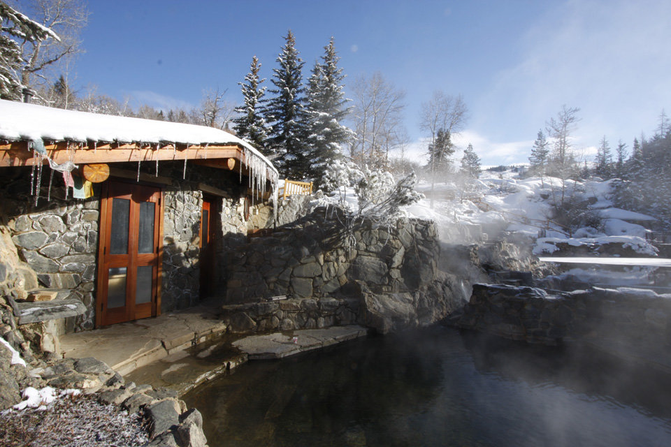 Strawberry Park is a must-do attraction in Steamboat, summer or winter. - ©Strawberry Park Hot Springs