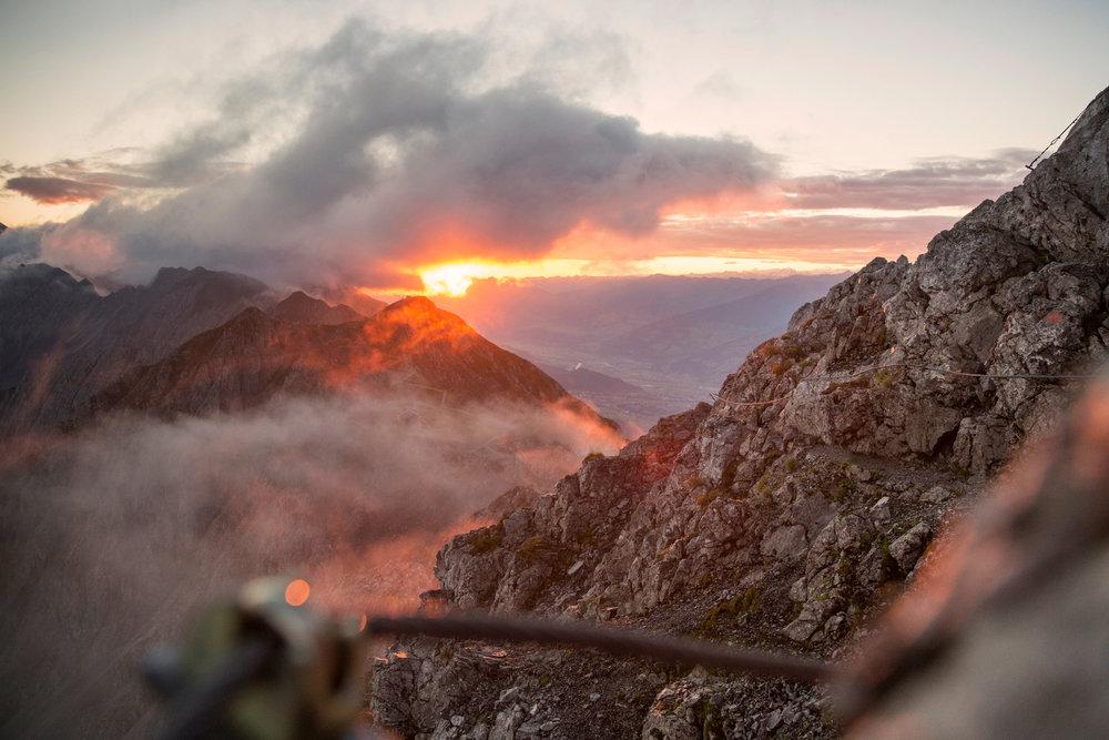 Klettersteig Nordkette : Fotos der region innsbruck und seine feriendörfer bergleben.de