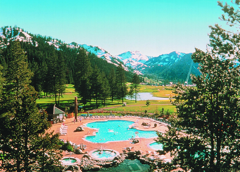 The scenic Resort at Squaw Creek in summertime.