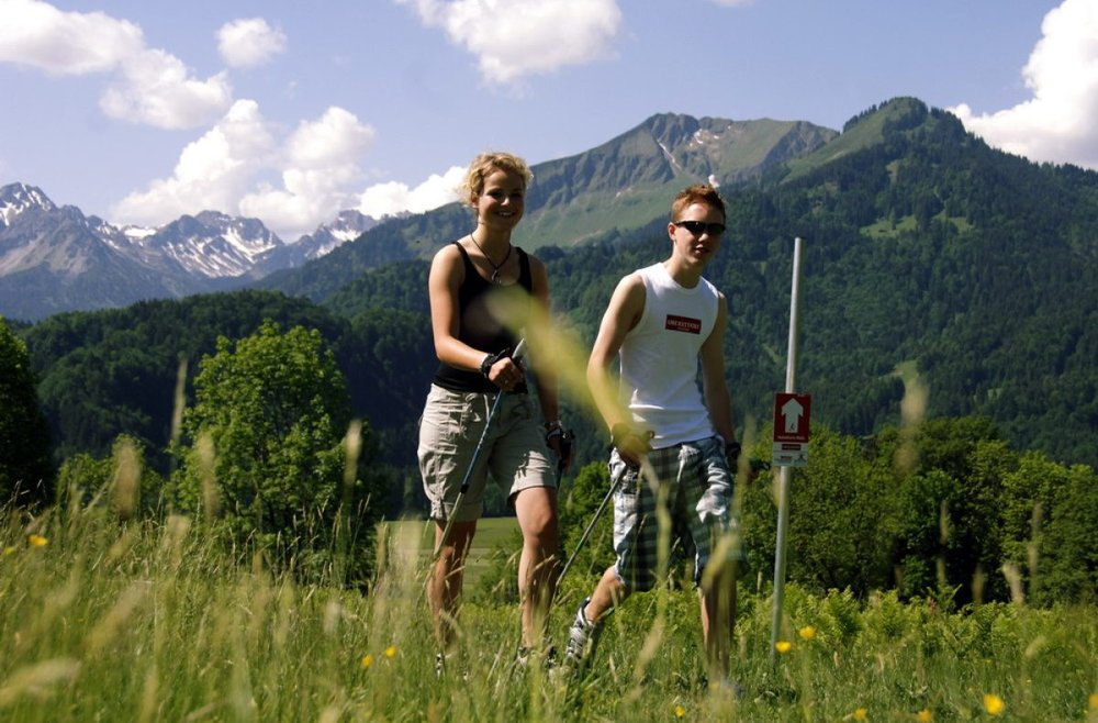 Nordic Walking in Oberstdorf - © Oberstdorf