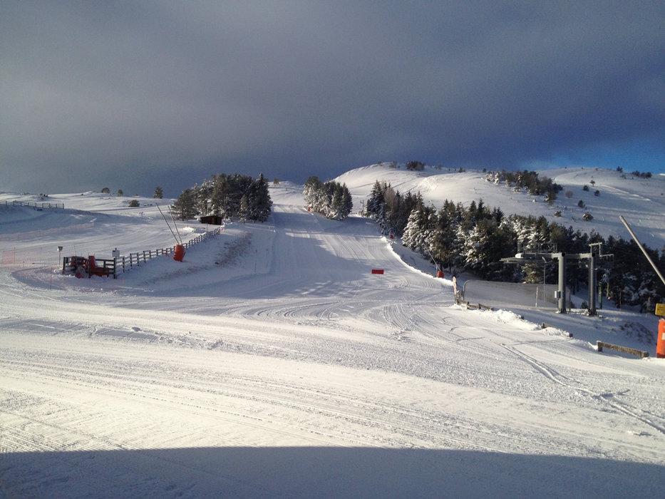 Les pistes de ski de Camurac n'attendent que vous...