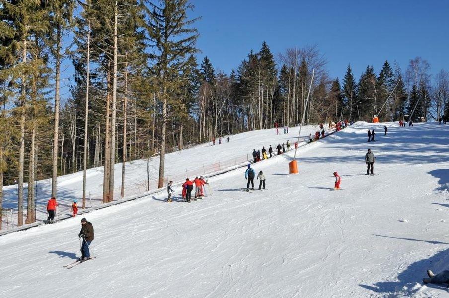 Sur les pistes de ski du Col de Marcieu