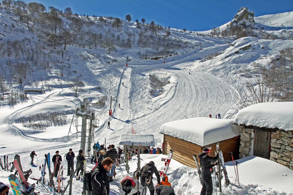Le départ des pistes de ski de Ghisoni - © Stéphane GAMANT