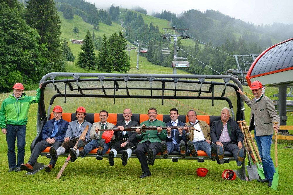 Das Skigebiet Oberjoch wird für rund 23 Millionen Euro modernisiert.  - © Wolfgang B. Kleiner/Bergbahnen Hindelang-Oberjoch