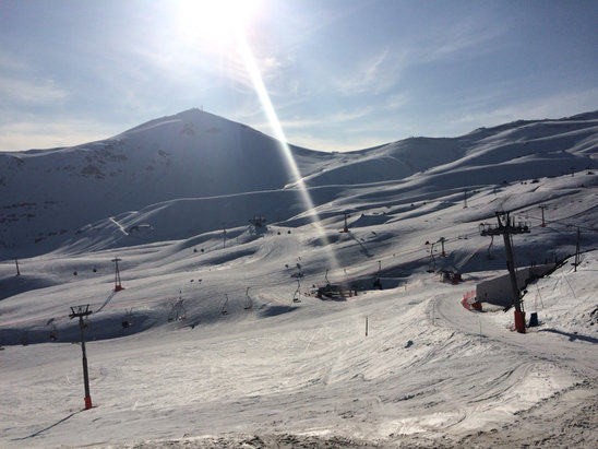 Valle Nevado - Great snow. Better than expected for september.  - © Brazilian SnowShow