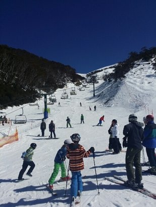 Mt. Hotham - Awesome snow for spring.  - © b.coops83