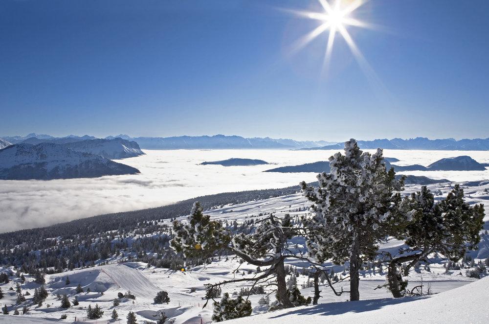 Domaine skiable - © OT des Aillons-Margeriaz