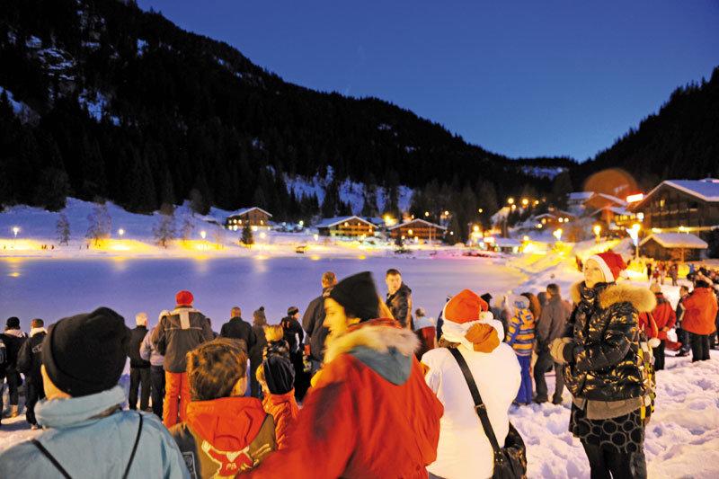 Châtel Christmas - ©Châtel Tourisme