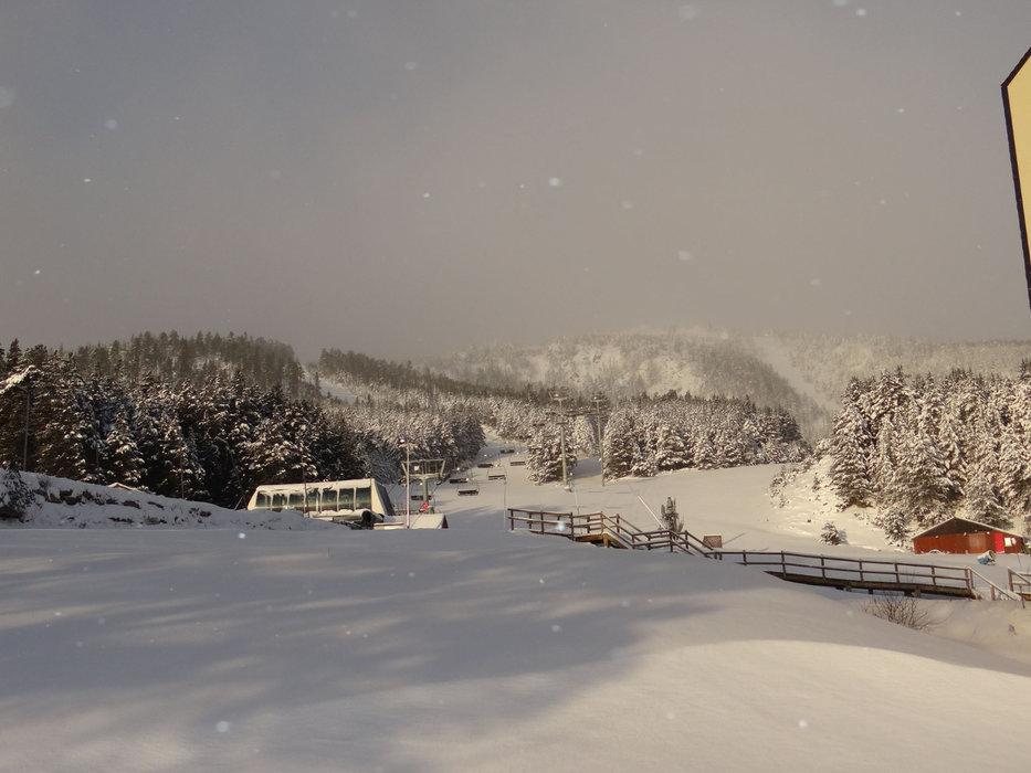 Jour de neige sur Puyvalador... - © Station de Puyvalador