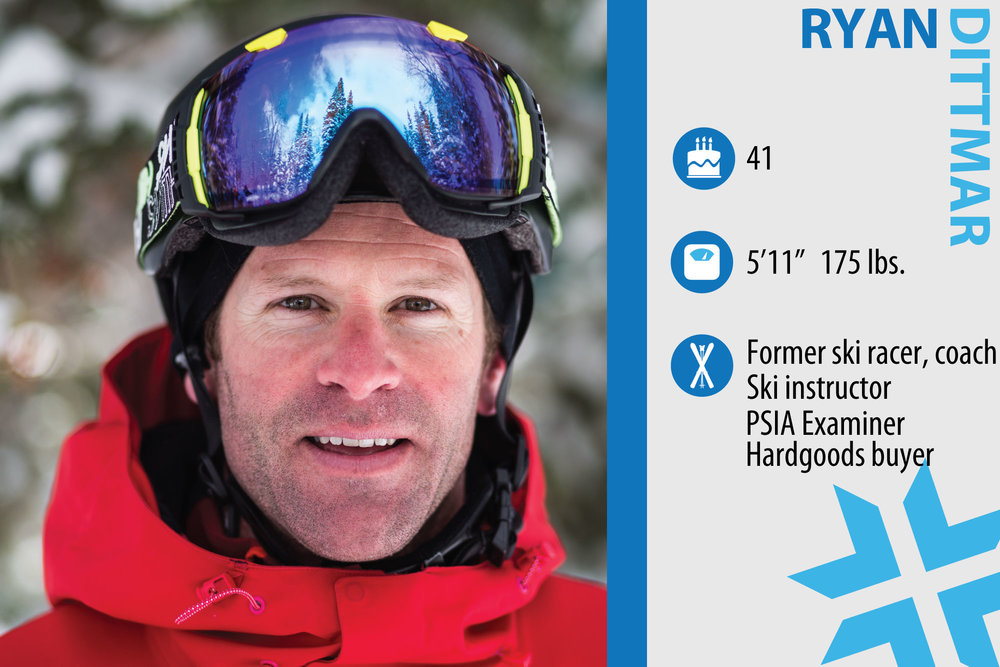 "Edbert ""Ryan"" Dittmar. Job in real life: Mechanical Engineer/Explosives Testing and Safety, ski instructor. What are you working on in your own skiing? ""I want to keep dropping big air and stay dynamic in my movements. The hardest part is to maintain the agility and flexibility—yoga is becoming a key element."" - ©Liam Doran"