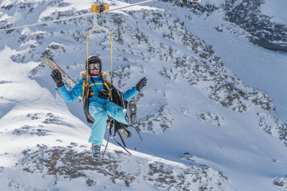 Netradičný a adrenalínový spôsob, ako sa zabaviť vo Val Thorens - © C. Cattin / OT Val Thorens