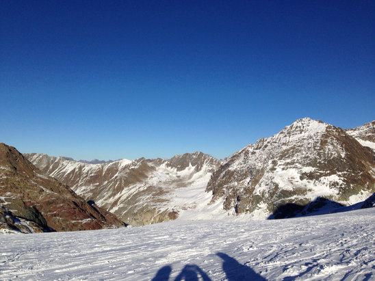 Pitztaler Glacier - [! skireport_firsthandpost_pagetitle ] - © Ingo das iPhone